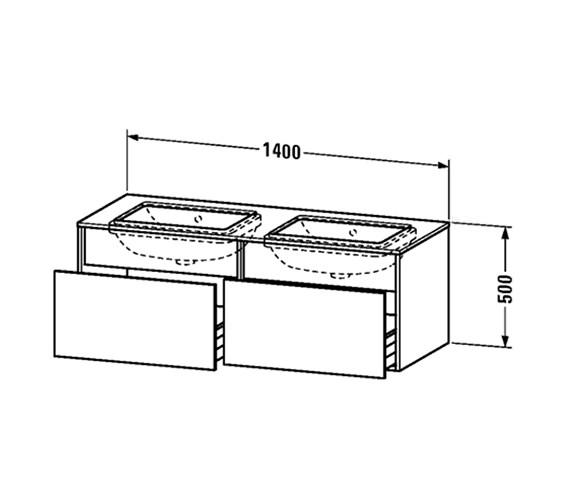 Technical drawing QS-V63001 / DS6886B1818