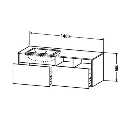 Technical drawing QS-V63002 / DS6885L1818
