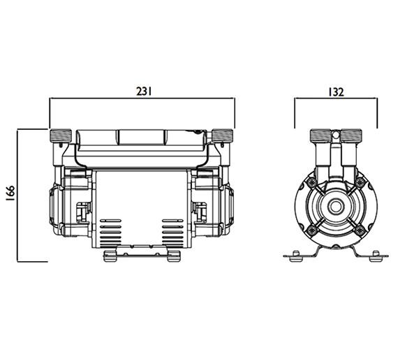 Technical drawing QS-V63032 / ST PUMP15TN