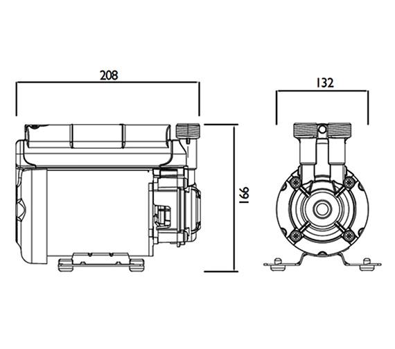 Technical drawing QS-V63033 / ST PUMP20SG