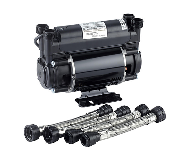Bristan Stuart Turner 2.0 bar Twin Impeller Shower Pump - ST PUMP20TN