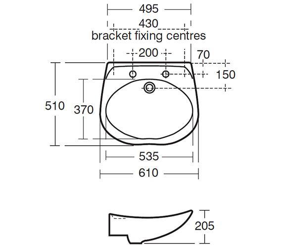 Technical drawing QS-V63042 / S230001