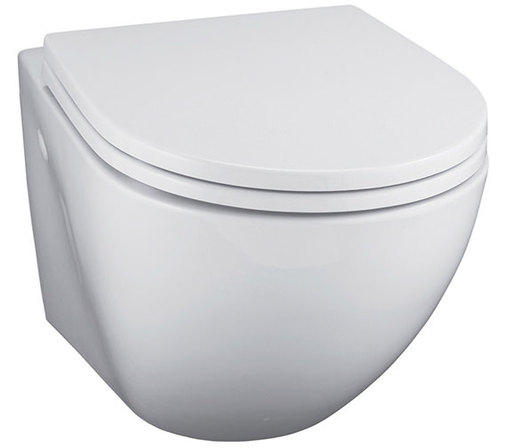 Ideal Standard White Wall Mounted 530mm WC Pan