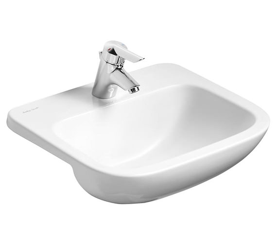 Armitage Shanks Profile 1 Taphole Semi-Countertop Basin Without Overflow