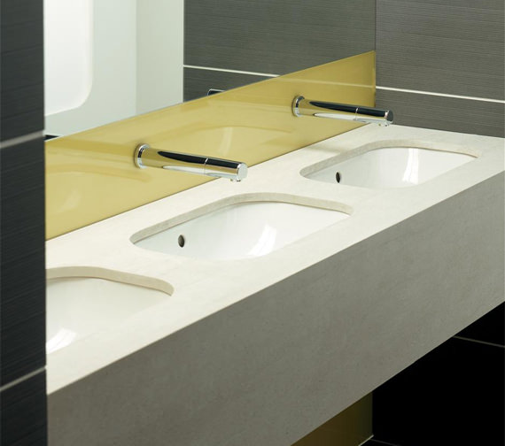 Armitage Shanks Contour 500mm Under Countertop Basin With Overflow