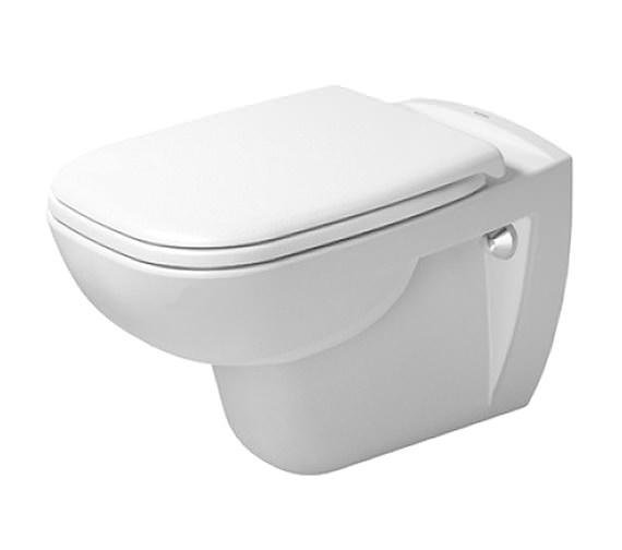 Duravit D-Code 355 x 545mm Wall Mounted Toilet