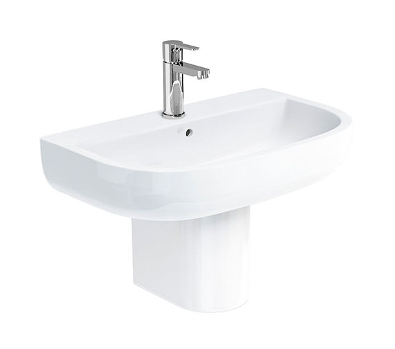 Alternate image of Britton Compact 450mm Wide 1 Tap Hole Basin