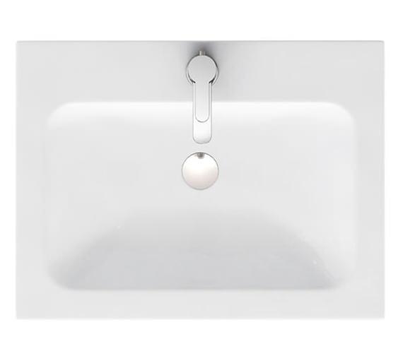 Britton Aqua Cabinets D450 1 Tap Hole 600mm Quattrocast Furniture Basin