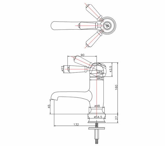 Technical drawing QS-V70337 / CHR19