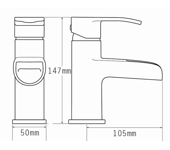 Technical drawing QS-V70501 / 1670