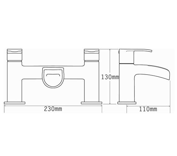 Technical drawing QS-V70502 / 1640