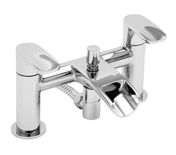 Tre Mercati Ora Deck Mounted Bath Shower Mixer Tap With Kit
