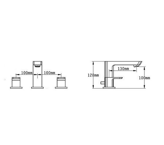 Technical drawing QS-V70513 / 43090