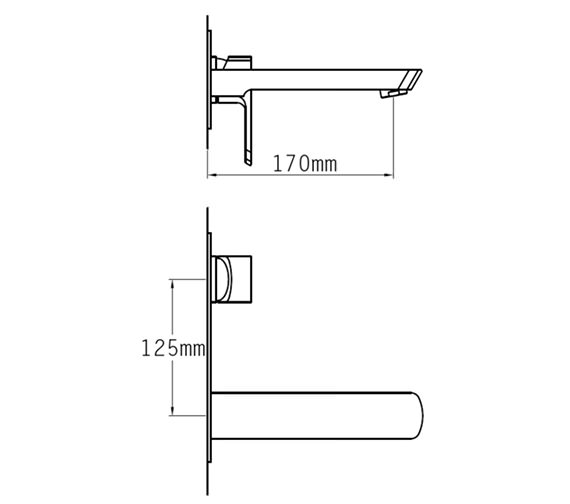 Technical drawing QS-V70514 / 43095