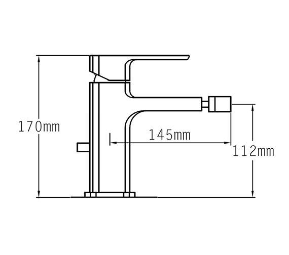 Technical drawing QS-V70516 / 43080