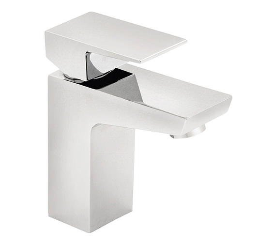 Tre Mercati Wilde Mono Basin Mixer Tap With Click Clack Waste Chrome