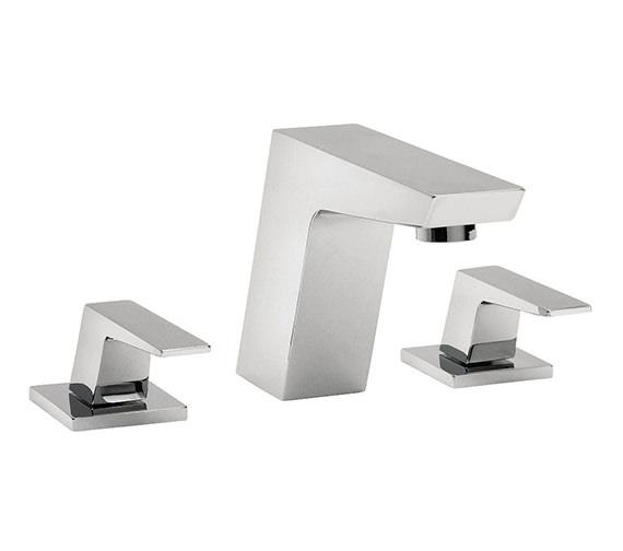 Tre Mercati Wilde 3 Hole Basin Mixer Tap Chrome - 47090