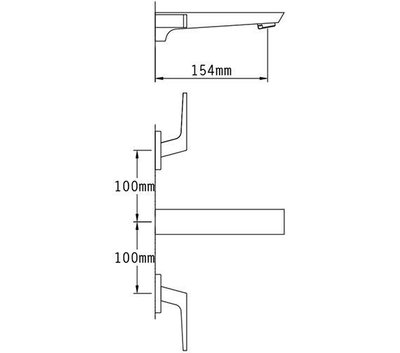 Technical drawing QS-V70531 / 47091