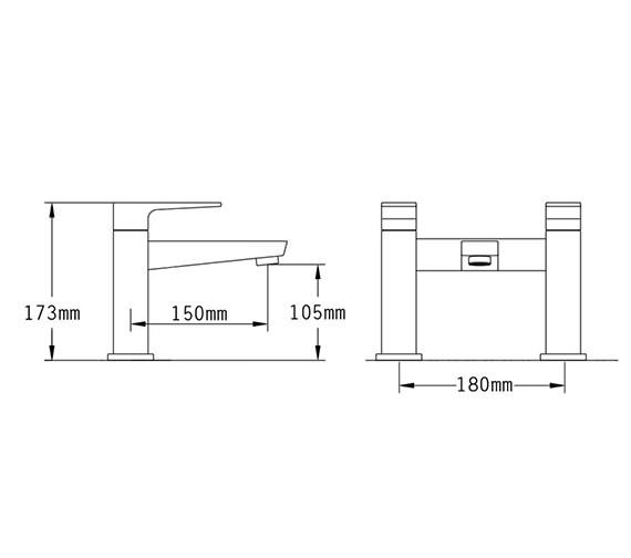 Technical drawing QS-V70534 / 47040