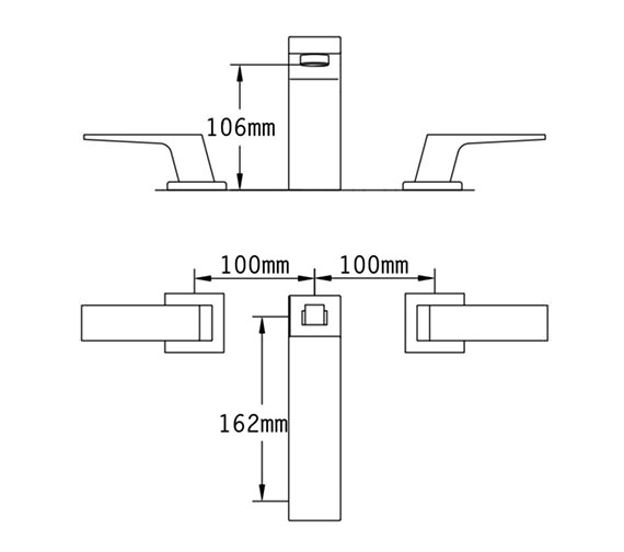 Technical drawing QS-V70535 / 47045