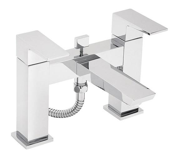 Tre Mercati Wilde Pillar Mounted Bath Shower Mixer Tap With Kit