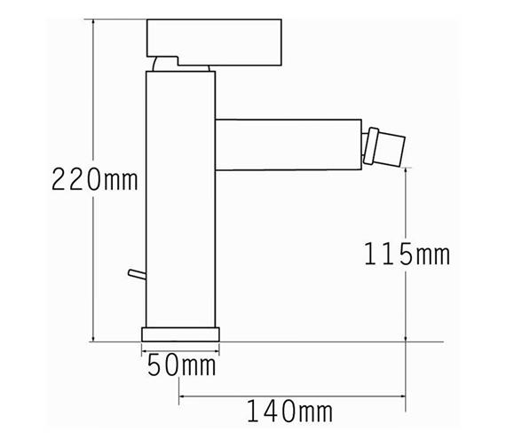 Technical drawing QS-V70543 / 22580