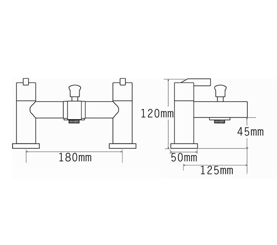 Technical drawing QS-V70545 / 22555