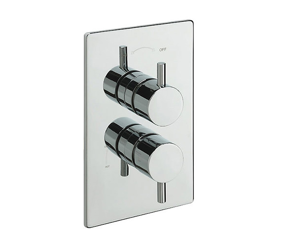 Tre Mercati Bella Concealed Valve With Slide Rail Kit And Wall Outlet