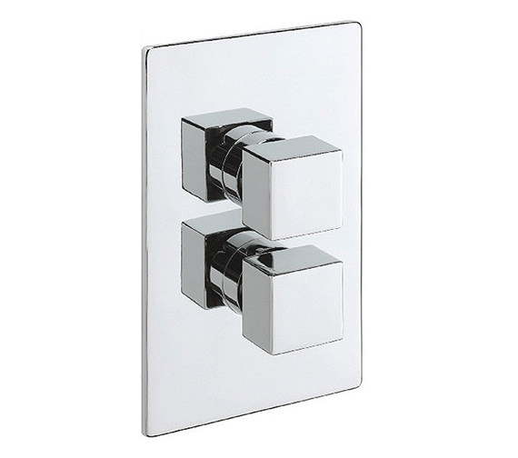Tre Mercati Dance Concealed Thermostatic 2 Way Diverter Valve - 83052