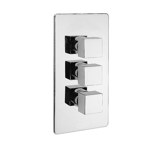 Tre Mercati Dance Concealed Thermostatic Valve With 3 Way Diverter