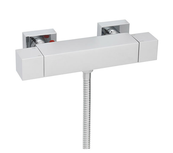 Tre Mercati Dance Exposed Thermostatic Valve With Sliding Rail Kit