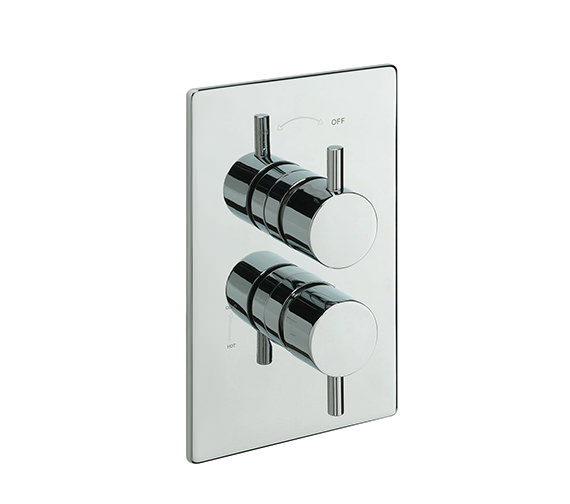 Tre Mercati Poppy Concealed Thermostatic Shower Valve Chrome - 82071