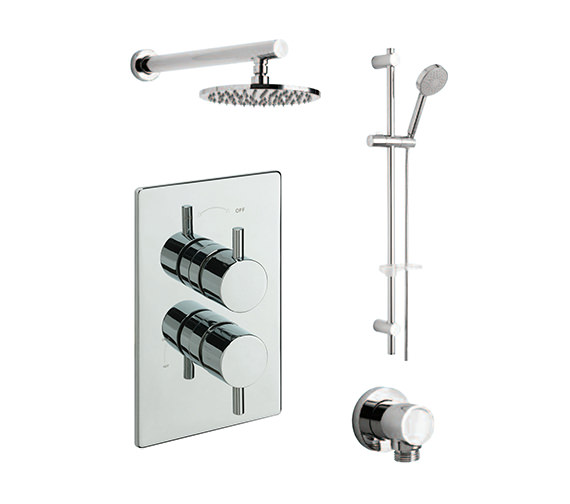 Tre Mercati Poppy Concealed Valve With 2 Way Diverter And Kit - 82072A