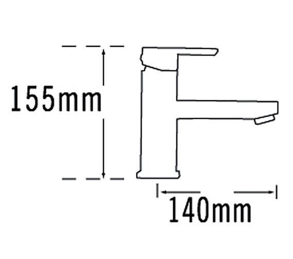 Technical drawing QS-V70594 / 22370