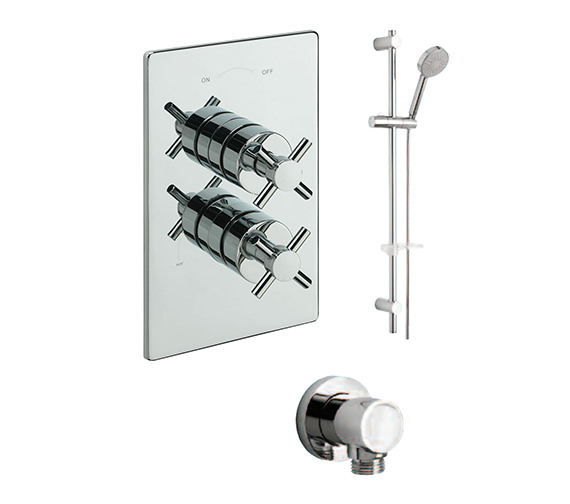 Tre Mercati Erin Concealed Valve With Kit And Wall Outlet - 82091B