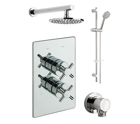Tre Mercati Erin Concealed 2 Way Diverter Valve With Shower Set-82092A
