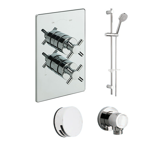 Tre Mercati Erin Concealed 2 Way Diverter Valve And Shower Set