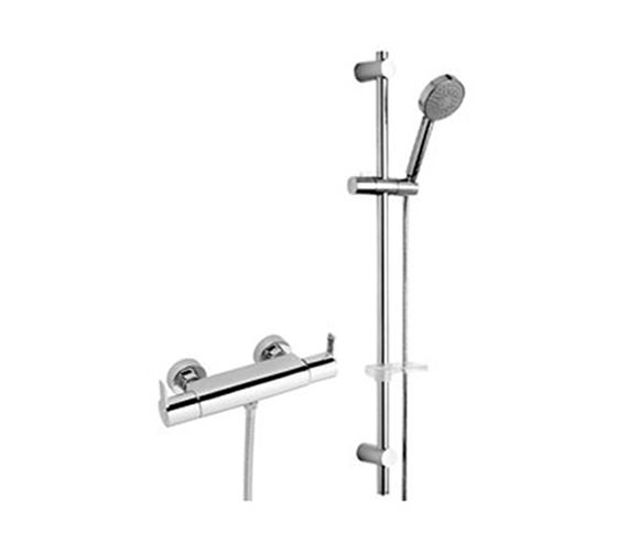 Tre Mercati Angle Exposed Thermostatic Shower Valve With Kit - 22190A