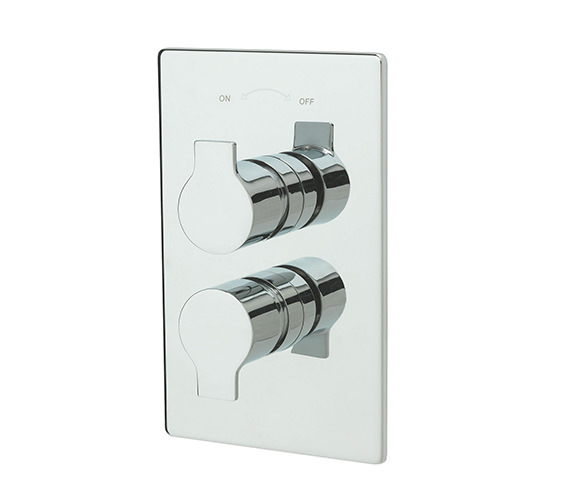 Tre Mercati Angle Thermostatic Concealed 2 Way Diverter Valve - 22192