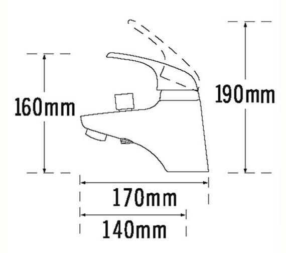 Technical drawing QS-V70643 / 95266