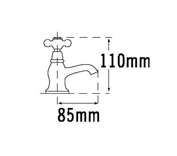 Technical drawing QS-V70655 / VICT21