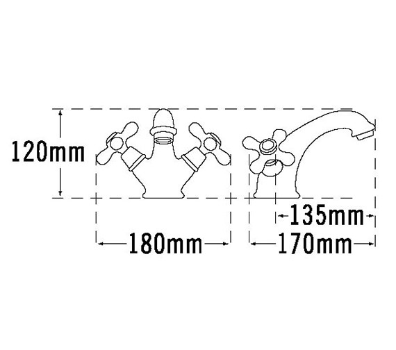 Technical drawing QS-V70657 / VICT26