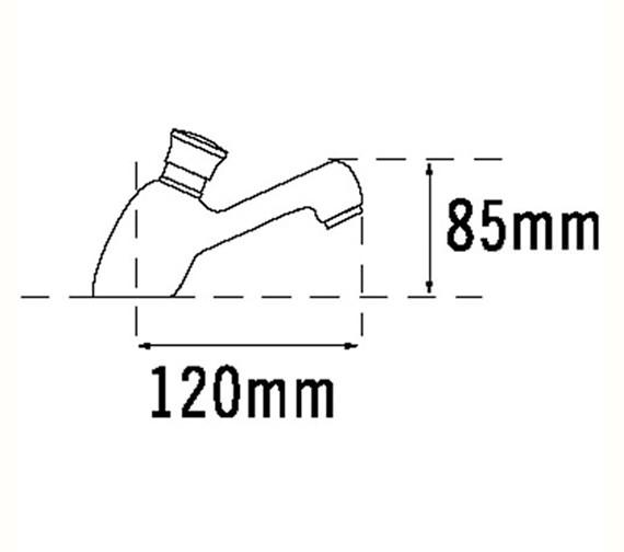 Technical drawing QS-V70695 / 410