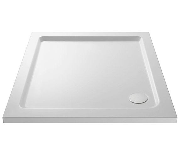 Alternate image of Nuie Premier Pearlstone Square Shower Tray