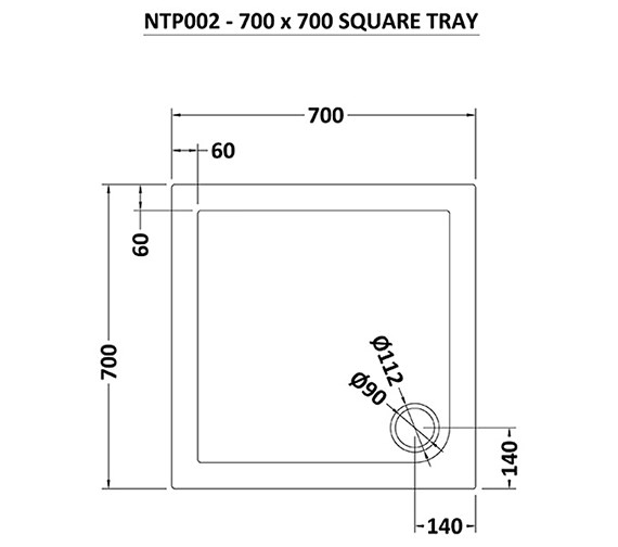 Technical drawing QS-V70946 / NTP002