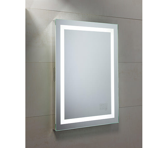 Roper Rhodes Encore Bluetooth Mirror 500 x 700mm Chrome - MLE430