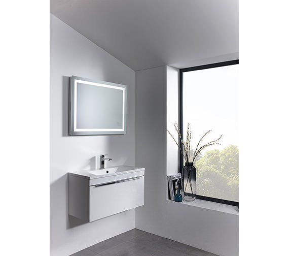 Roper Rhodes Beat Bluetooth Mirror 800 x 600mm Chrome - MLE420