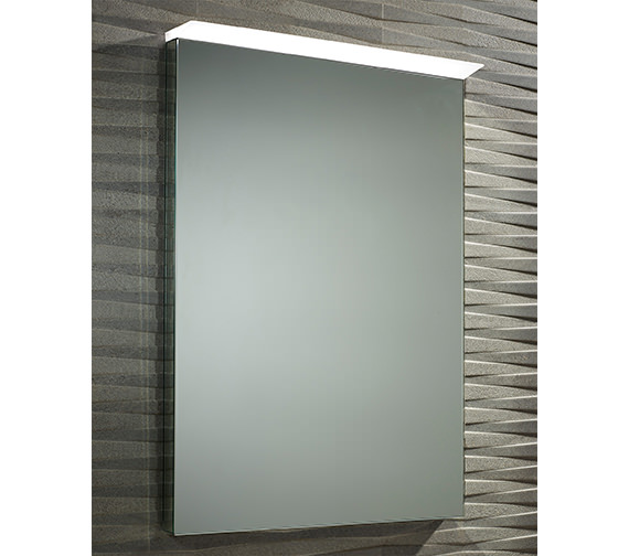 Roper Rhodes Induct LED Mirror 550 x 700mm Chrome - MLE440