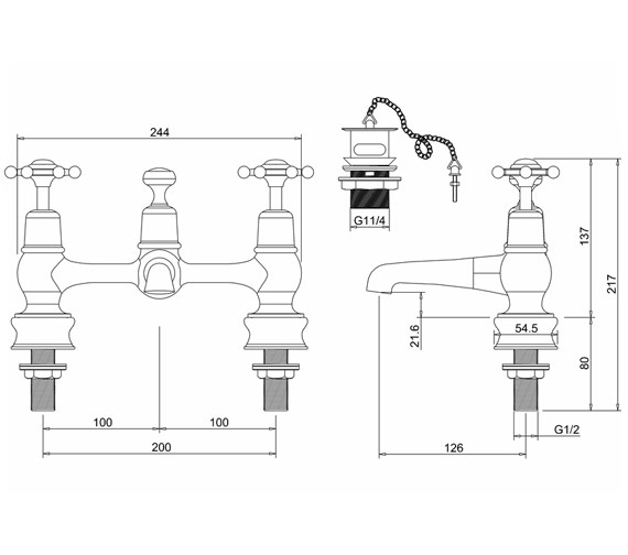 Technical drawing QS-V71003 / BIR10