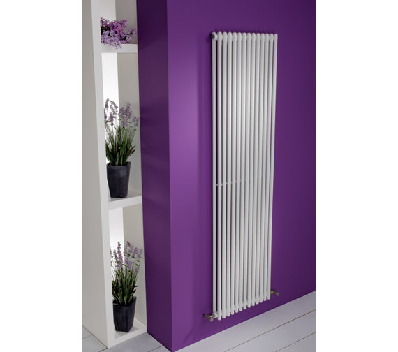 MHS Linea Double Tube-On-Tube Designer Radiator 430 x 1800mm